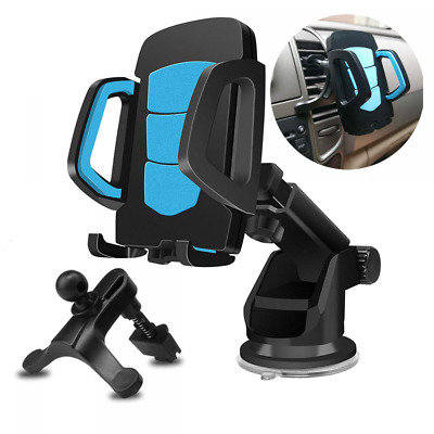 Phone Holder for Car Windshield/Dashboard/Air Vent 360 Degree Rotation Mount