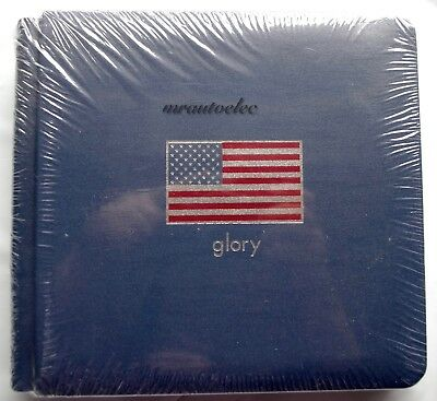 Creative Memories American Glory Blue 7x7 Album WITH PAGES - BNIP