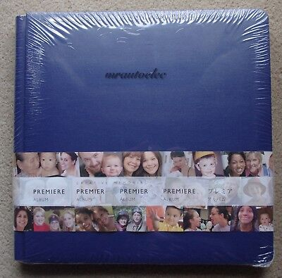 Creative Memories Sapphire Blue Original 12x12 scrapbook album coverset w PAGES