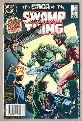 Swamp Thing (2nd Series) Mark Jewelers #24MJ 1984 VG 4.0