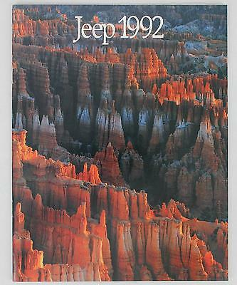 Jeep Eagle 1992 #37004 Sales Brochure / Literature