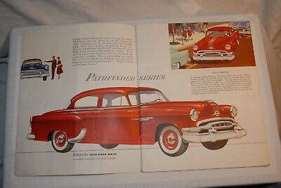 1954 Pontiac Sale Brochure. 24 Pages. 10 In By 6 In. English, Printed In Canada.