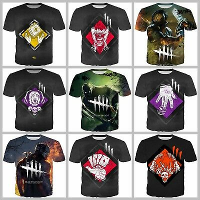 New Fashion Women/Men Game Dead By Daylight 3D Print Casual T-Shirt E32