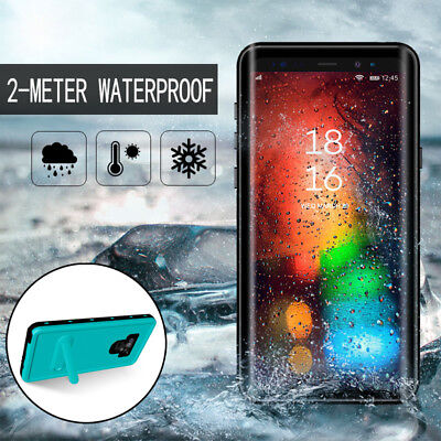 Stand 360° Waterproof Shockproof Case Cover For Samsung Galaxy Note 9/8 S8 S9+