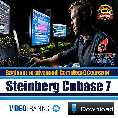 Cubase 7 Beginner to Advanced Complete 9 Course Tutorials Video Training DOWNLOA