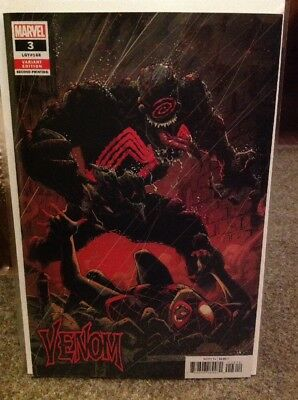 VENOM #3 (2018) 2nd Printing DONNY CATES 1st Appearance KNULL NM HIGH GRADE