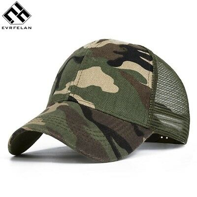 4ad902471 CAMOUFLAGE MESH TRUCKER Cap for Men - Camo Plain Mesh Trucker Hat ...