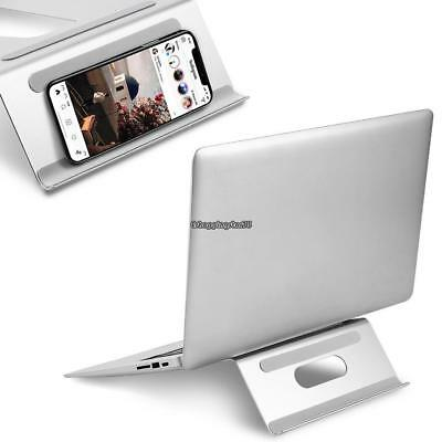 Ergonomic Riser Laptop Stand Bracket Holder Macbook Notebook Desk Tablet Pad New