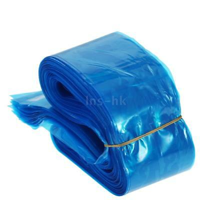 Anself 100Pcs Clip Cord Sleeves Bags Disposable Covers for Tattoo Machine L8M2