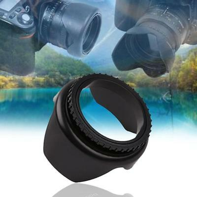 52mm Lens Hood Screw Mount Petal Crown Flower Shape for Canon Nikon Sony Pentax<