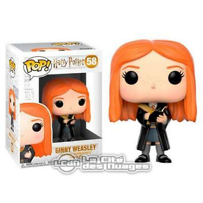 Harry Potter POP! Movies Ginny Weasley with Diary Vinyl Figure 10cm n°58 FUNKO