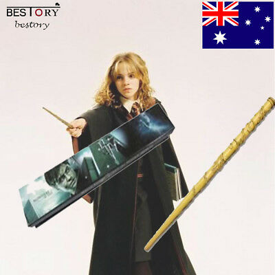 Movie Hermione Magic Wand Granger Collectible Wands Props Gifts In Box Decor AU