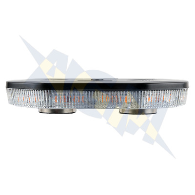 Durite 0-443-45 Amber 1ft, 40 SMD LED's Magnetic Mount Light Bar, 12/24 Volt