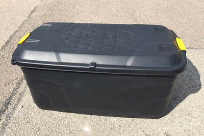 Strata Heavy Duty Storage Box/Crates 75L/145L - Job lots of 10 or 20 - From £5ea