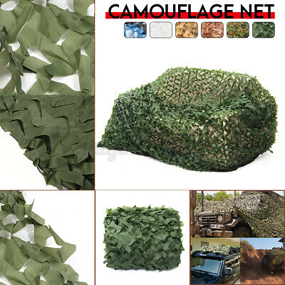 Woodland Camouflage Camo Net Hide Army Netting Camping Military Hunting 13x20ft