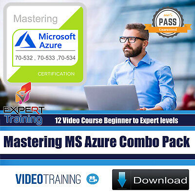Mastering Microsoft Azure Exams 12 Video Course Compo Pack DOWNLOAD