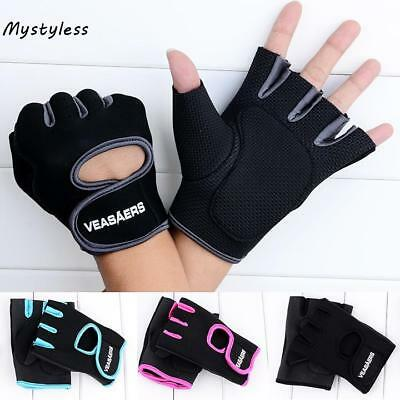Sport Cycling Fitness GYM Half Finger Weightlifting Gloves Exercise TCNT 01