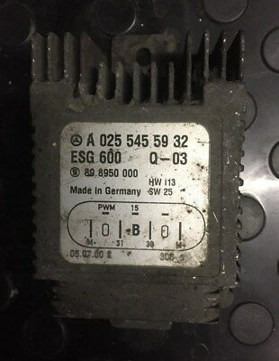 MERCEDES BENZ RADIATOR Fan Control Module - A0255455932