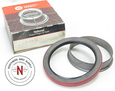 "NATIONAL / TIMKEN 5167 OIL SEAL, 3.625"" x 4.756"" x .875"", DOUBLE LIP, NITRILE"