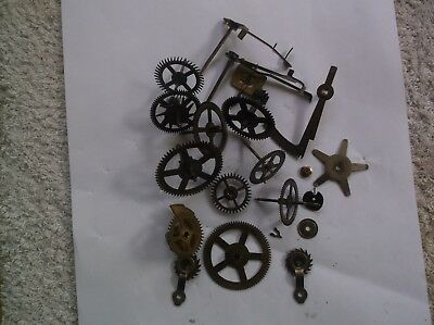 Smiths Cogs Etc  From An Old Small  Mantle Clock