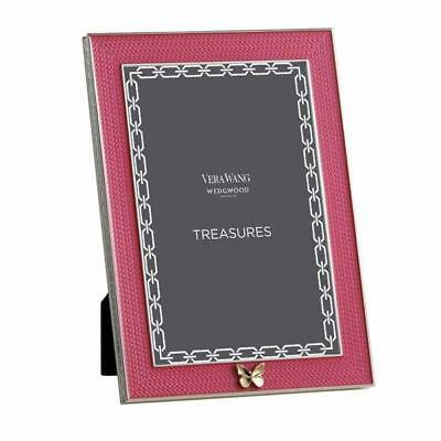 Vera Wang With Love Treasures Pink Butterfly Frame 4x6