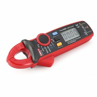 UNI-T Mini Digital Clamp Meter Multimeter True RMS AC/DC Volt Amp Ohm TesterYF