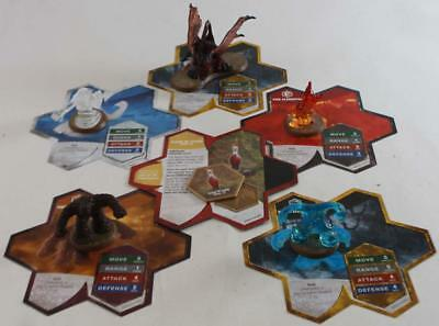 WOTC HeroScape Lo Wave #11 - Champions of the Forgotten Realms - Fury of th NM