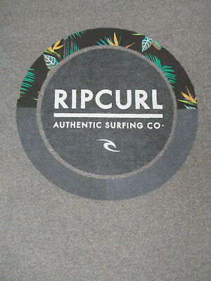 Rip Curl - Authentic Surfing Co. - Small Gray T-Shirt - S1368