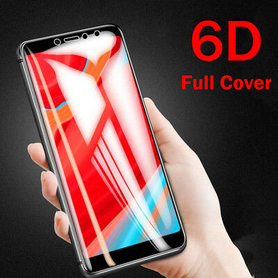 51a47bc1b 6D Tempered Glass For Xiaomi Redmi Note 5 Pro 4X 5A Full Screen Protector  Cover