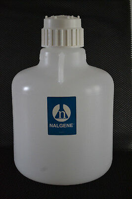 Nalgene 10L LDPE Carboy with Tubulation, 2302-0020, includes Cap, Thermo Fisher