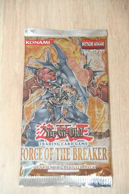 1 Booster Force of the breaker FOTB, 1. A, deutsch, Karten-Pack,Yu-Gi-Oh,Neu OVP