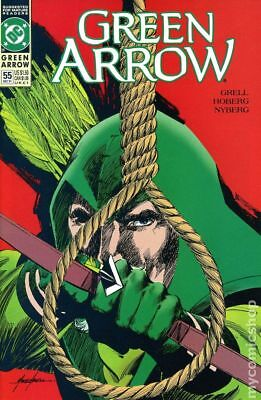 Green Arrow (1st Series) #55 1991 FN Stock Image