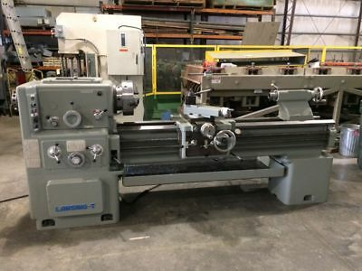 "20"" x 60"" Lansing  Engine Lathe, 4"" spindle bore, Aloris toolpost, 3-jaw chuck"