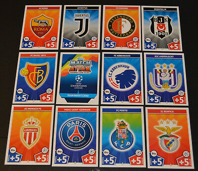 Match Attax UEFA Champions League UCL 2017/18 -{select your}- (199-396) cards