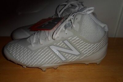 6e380ea20  99.99 NWT 2017 NEW BALANCE Burn X Mid-Cut lacrosse BURNXMWT CLEATS MEN 8.5  2E