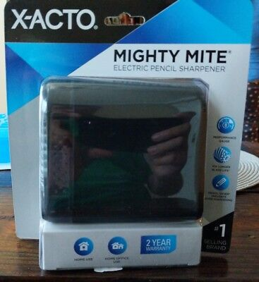 (4A) X-ACTO Electric Pencil Sharpener Black New free shipping