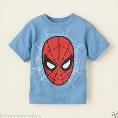 Children's Place Short Sleeve Spiderman T-Shirt ~ Pick Your Size ~ NWT MSRP $16