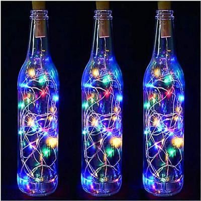 Snowflake Solar String Light 20 ft 30 LED Waterproof Power Lights for Parties US