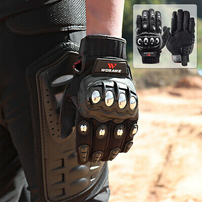 Motocross Racing Gloves Motorcycle Hard Armor Motorbike Full Finger Touch Screen