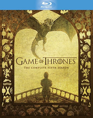 Game Of Thrones: The Complete Fifth Season (UK IMPORT) Blu-Ray NEW