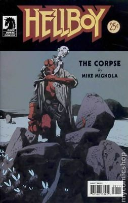 Hellboy The Corpse #1 2004 VG Stock Image Low Grade