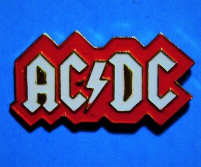 Ac/dc - Australian Rock Band - Music Group - Vintage Lapel Pin - Pinback