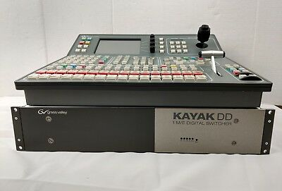 Grass Valley Kayak DD 1 Digital Switcher DD-1 Control Panel Video Production