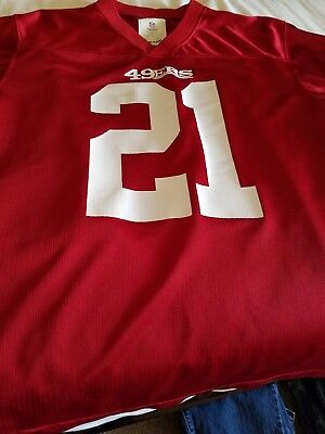 6880a597643 FRANK GORE  21 San Francisco 49ers NFL Authentic Reebok Jersey Youth ...