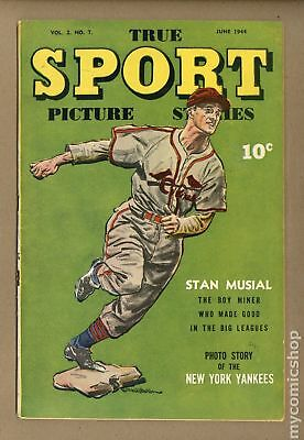 True Sport Picture Stories Vol. 2 #7 1944 VG- 3.5