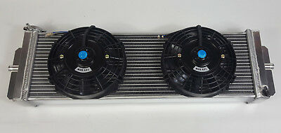 Universal Heat exchange Radiator & Fan Chargecooler Air Water Liquid Intercooler