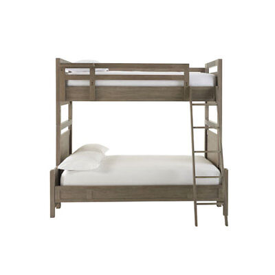 Smartstuff Furniture Scrimmage Greystone Complete Twin Over Full Beds - 7371590