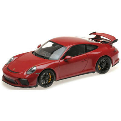 red with black wheels Minichamps 110067020 Porsche 911 GT3-2017