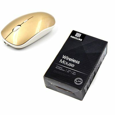 Maikou 2.4G Wireless Optical Mouse Rechargeable PC Computer Mouse Warmer MT