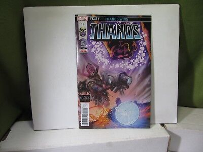 THANOS #16 SECRET ORIGINS OF COSMIC GHOST RIDER SOLD OUT   1st print VF-NM